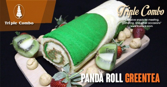 Panda Roll Greentea